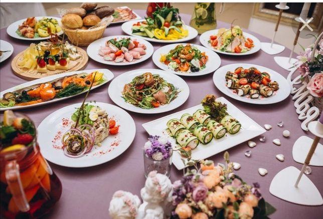 Комплексные обеды, банкеты на заказ
