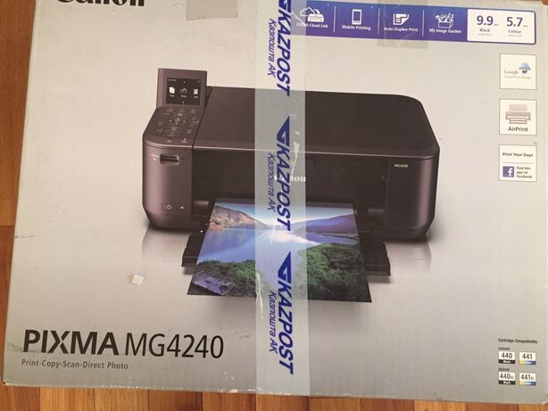 Принтер цветной Canon MG 4240