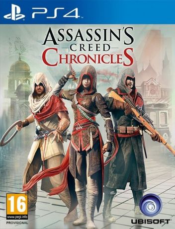 Assassin's Creed Chronicles Pack / PS4 / Игра / Нова / Playstation4 /