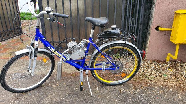 Bicicletă cu motor 2Timpi pe benzină !
