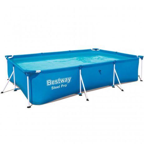 Каркасный бассейн Bestway 2,59м*1.70м*61см