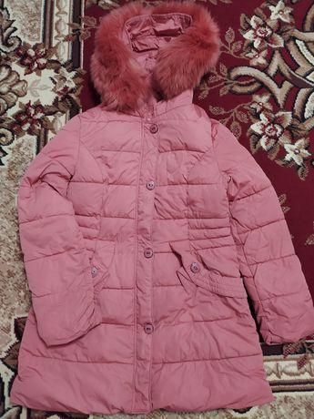 Куртка в персиковом цвете