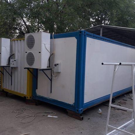 Морозильные контейнера оборудование камеры