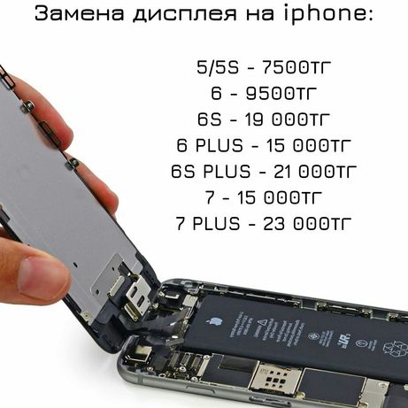 Качественная замена дисплея на IPhone с гарантией!