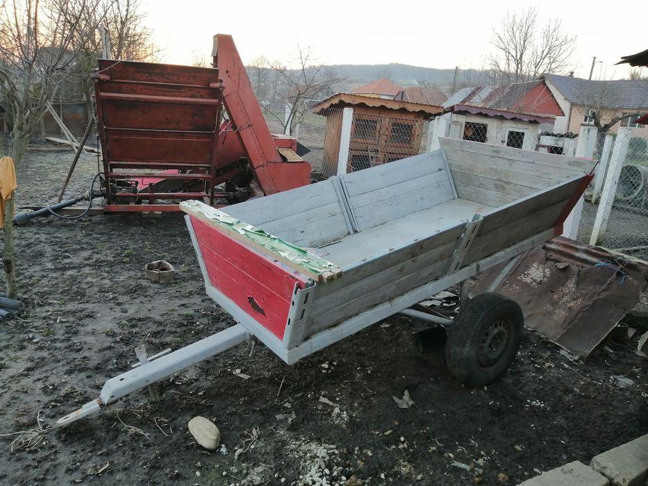 Remorcă tractor basculabilă. Calanu Mic - imagine 1