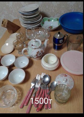 Посуда разная тарелки