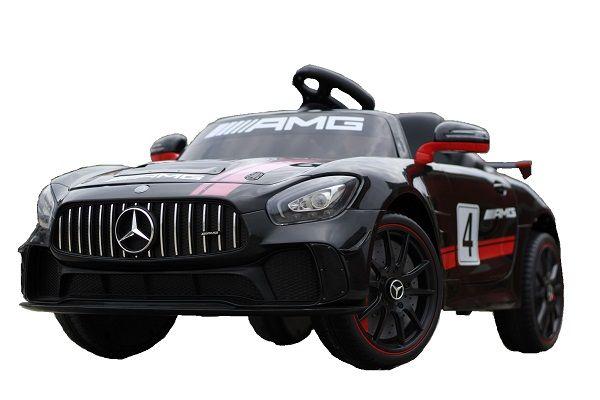 Masinuta electrica Kinderauto Mercedes GT4 AMG 2x25W STANDARD #Negru