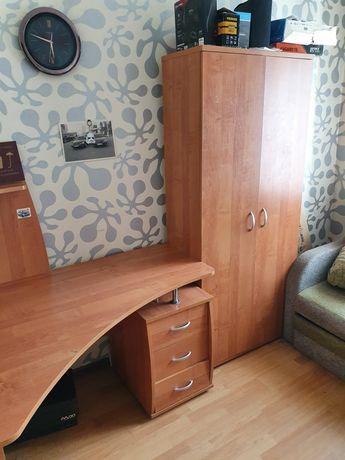 Игровой компьютерный стол и плательный шкаф(комплект)