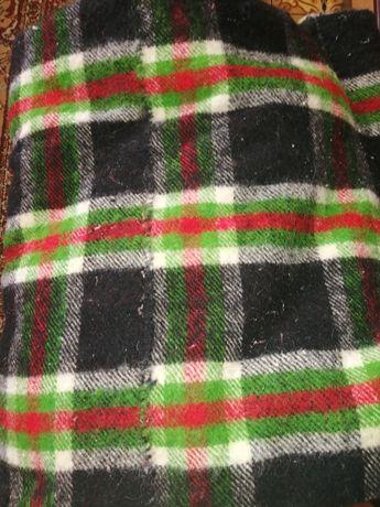 Вълнено, тъкано  одеяло