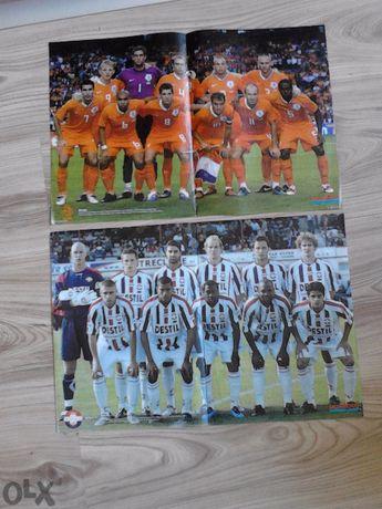 Продавам плакати с футболисти и футболни отбори