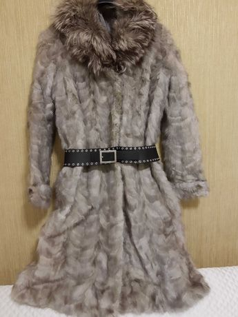 Палто естествен косъм,норка