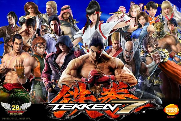 [ps4] ! СУПЕР Цена ! НОВИ Tekken 7 за Playstation 4/Текен/1-2 играча