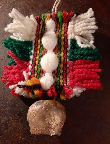 Звънче със знамето на България