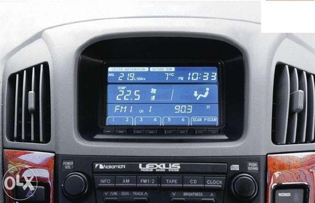 Монитор (дисплей) на Lexus RX 300