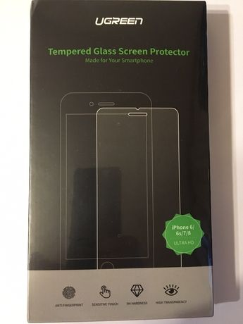 Folie Sticla Tempered Glass iPhone 6 / 6s / 7 / 8 anti fingerprint