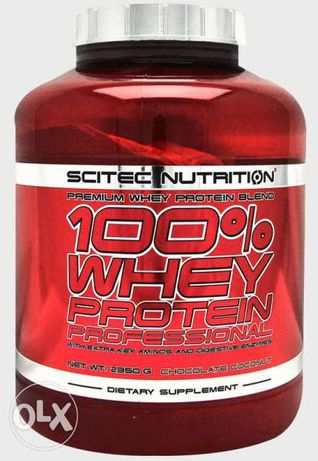 Scitec Nutrition 100% Whey Professional, 2.35 кг - 85.90 лева