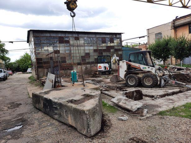 Bobcat demolari picon taiem beton asfalt basculanta 3,5t moloz nisip