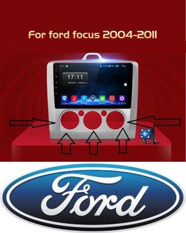 Navigatie 2DIN pentru FORD FOCUS MK2 MK3,noua ,ecran full,android.
