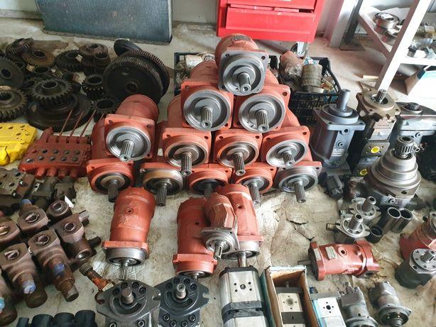 Pompe hidraulice cu roti dintate si pistoane axiale