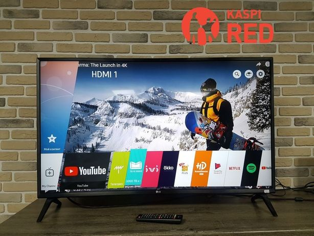 Тв Smart Full HD 109 см LG 43LK5400 Рассрочка KASPI RED! Гарантия год!