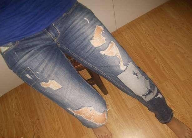 Pantaloni jeans Bershka