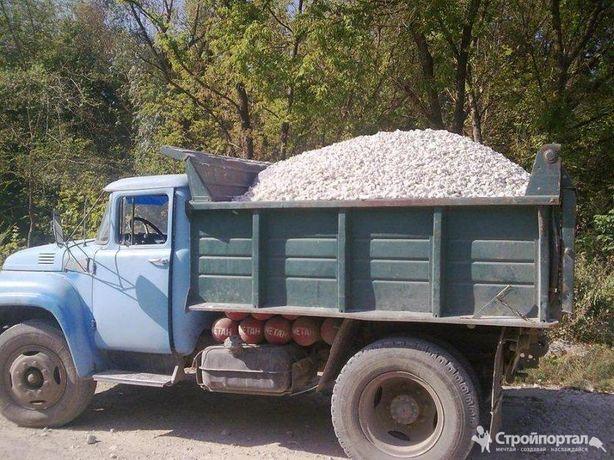Доставка отсев щебень Песок глин гшс а пгс сникерс уголь вывоз мусора
