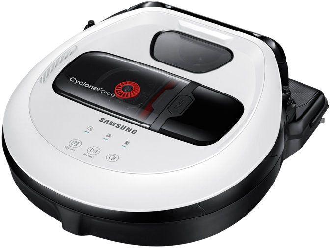Робот пылесос Samsung VR10M7010UW (белый) Алматы - изображение 1
