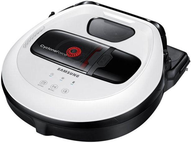 Робот пылесос Samsung VR10M7010UW (белый)