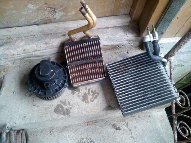 Calorifere si ventilator de caldura de jeep 3,1