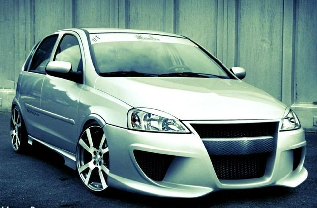 Bara fata tuning Opel Corsa C