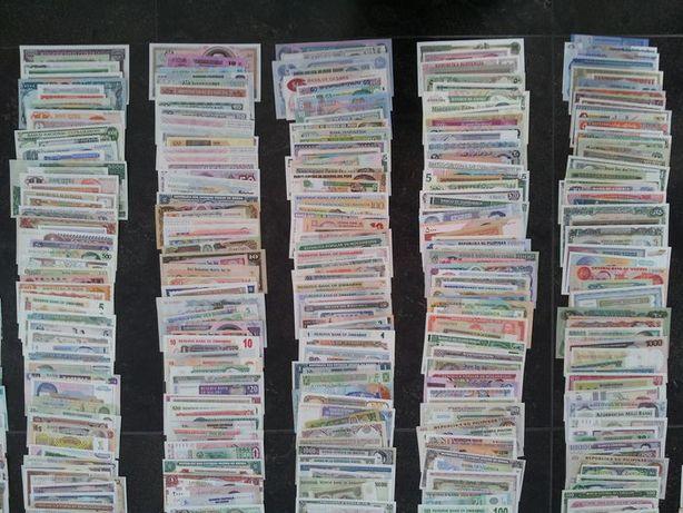 Lot 1000 bancnote diferite din intreaga lume - UNC