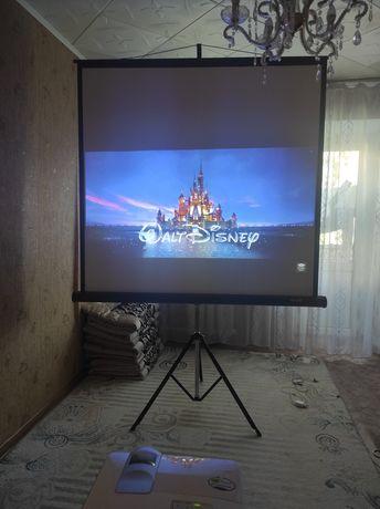 Проектор с экраном идеальный