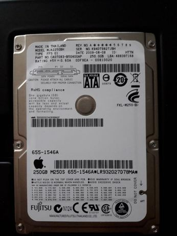 Vand HDD Apple 250GB Sata