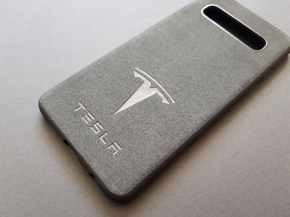 Кейс калъф TESLA с АЛКАНТАРА велур за Samsung Galaxy S10