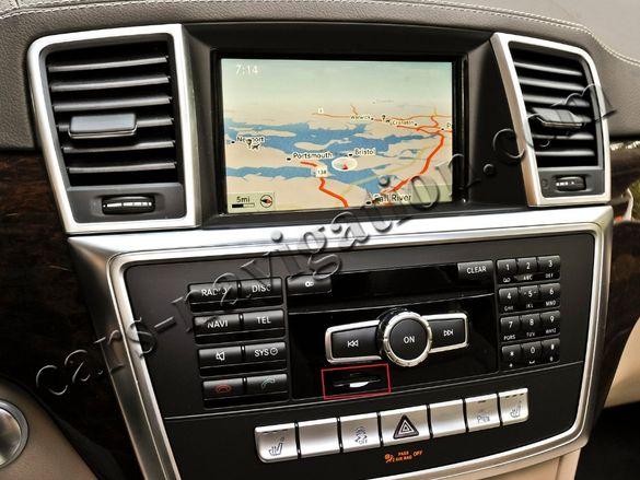Ъпдейт навигация Мерцедес 2020 България Mercedes E ML G GL CLS GLA GLK