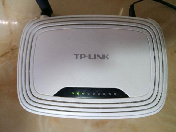 TP-LINK TL-WR740N Безжичен рутер N - като НОВ