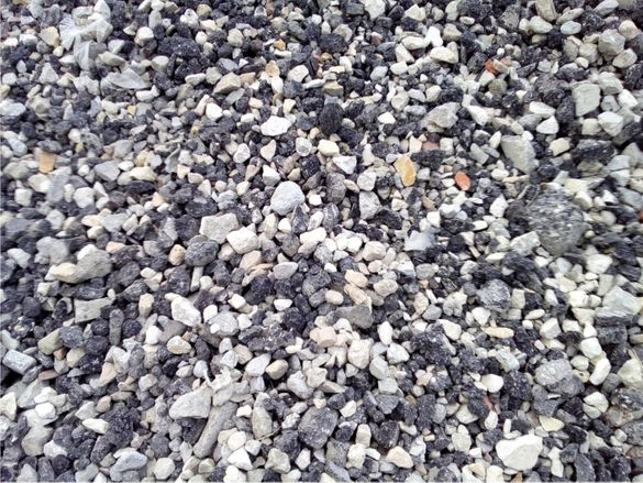 трошен АСФАЛТ рециклиран с битум- ДОСТАВКА на строителни материали от
