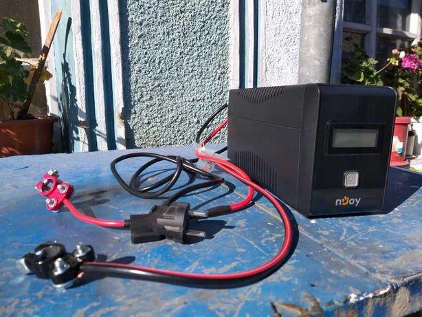 Incarcator baterii/Redresor/ UPS/ Invertor-centrale 12V-220V-480 W