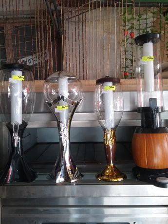 Диспенсър за НАПИТКИ и бира с охладител,рлазлични литражи.НОВО