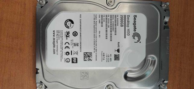 Жесткий диск 2 Терабайта