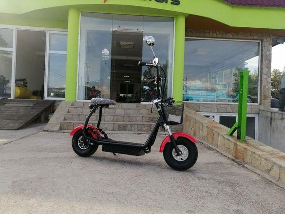 ЕЛЕКТРИЧЕСКИ СКУТЕР Maxmotors Little City Harley 1200W