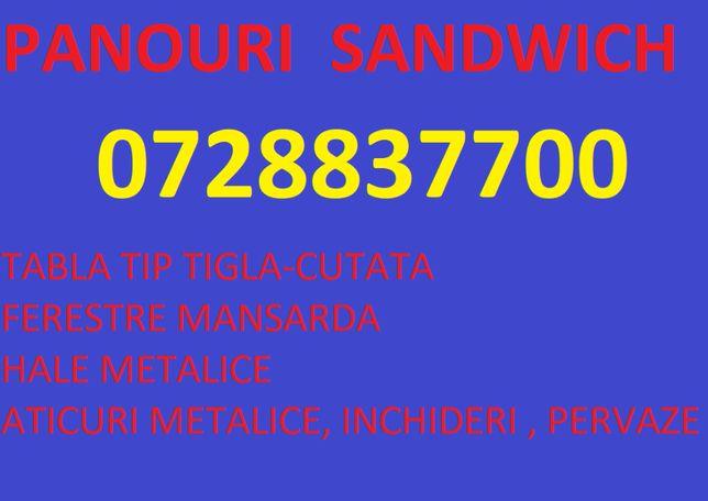 Panouri sandwich - oferta unica in Romania - Brasov