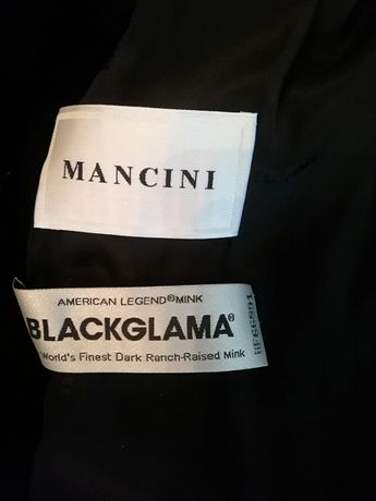 Норковая шуба Blackglama Италия Mancini