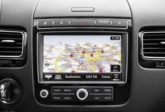 Harta navigatie VW TOUAREG RNS850 Audi MMI 3G Plus Romania 2019
