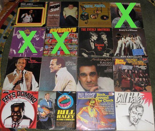 Vinil Kelly Family,Harry Belafonte,Everly Brothers,Bill Haley,Paul Ank