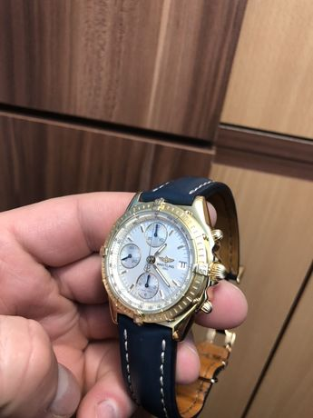 Ceas Breitling Aur 18K Automatic Chronograph EDIȚIE LIMITATĂ! Schimb