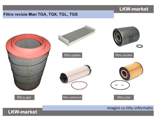 Set filtre revizie Man TGA, TGX, TGS, TGM,
