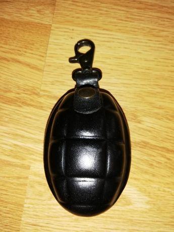 Breloc piele Model grenada (Lucrat manual)