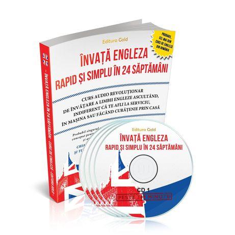 Curs Engleza începători singur acasa cd audio video gramatica meditat