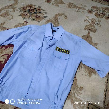 Рубашка с петлями для погонов